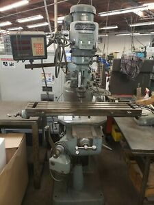 Used Bridgeport Mill Series 1 Manual Cnc Machining