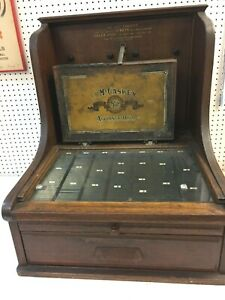 Mccaskey Register Antique Store Credit And Cash System