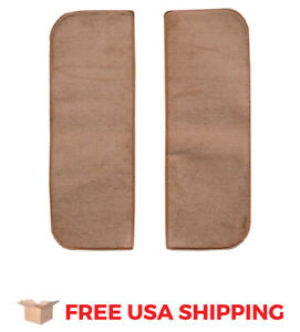 Fits 1966 Gmc I1000 Door Panel Inserts Without Cardboard 2pc Loop Carpet