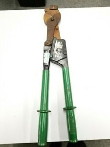 Cutter Cable Ratchet By Greenlee Preowned