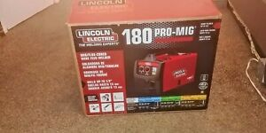 Lincoln Electric Pro Mig 180 Wire Feed Welder K2481 1 New