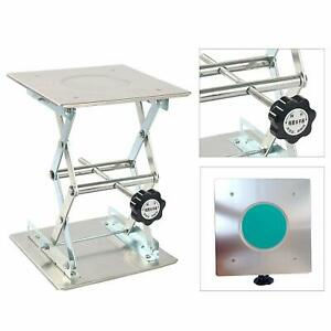 8 X 8 Stainless Steel Lift Tables Platform Lab Jack Scissor Stand Platform Us