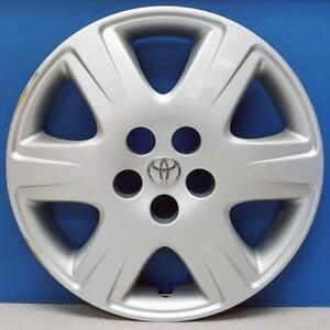 One 2005 2008 Toyota Corolla Le 61133 15 Hubcap Wheel Cover Oem 42621ab110