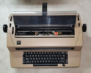 Ibm Correcting Selectric Iii Typewriter As is For Parts Or Repair