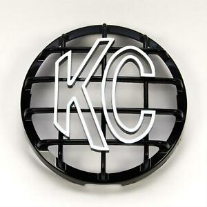 Kc Hilites Light Cover Round 6 Diameter Plastic Black White Bars Style Each
