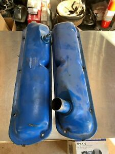 1964 1965 1966 Ford 260 289 V8 Valve Covers Comet Mustang Fairlane Rare Pcv