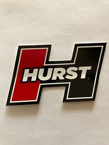Hurst Shifter Decal Sticker Drag Offroad Nascar Racing Man Cave Rotrod