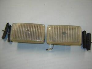 1987 88 Ford Thunderbird Turbo Coupe Front Fog Lights Rh Lh