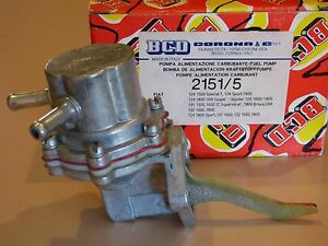 Fiat 124 Coupe Spider 125 131 Brava 132 Fuel Pump Twin Cam 1600 1800 Bcd New 4