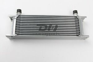 Silver Universal 13 Rows An 10an Engine Transmission 248mm Oil Cooler Aluminum