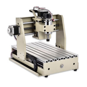 4 Axis Ups 3020 Router Engraver Milling Machine Carving Drilling 300w Us Stock