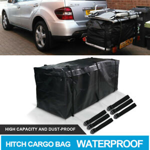 Rainproof Luggage Hitch Mount Cargo Carrier Bag Fit Cars Suvs Heavy Duty Straps