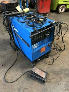 Miller Syncrowave 250 Tig stick Welder W Rfcs pedal And Coolant 1989
