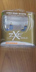 Sylvania 9006 Silverstar Zxe Gold High end White Xeon Charged 2 Halogen Lamps