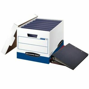 Bankers Box Stor file Fastfold Ring Binder Box 18 1 2 x12 1 4 x12 12 pk