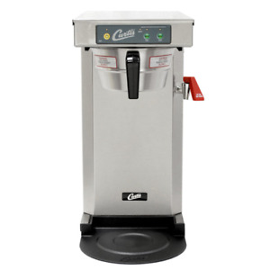 Wilbur Curtis Tlp12a19 Low Profile 19 Automatic Airpot Brewer Stainless 120v