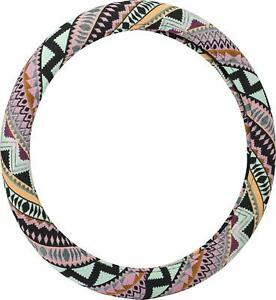 Bell Automotive 22 1 97487 8 Mayan Mint Steering Wheel Cover