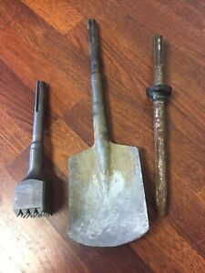 Sds max Rotary Hammer Shovel Point Chisel And Bushing Tool Or Pulverizer Bits