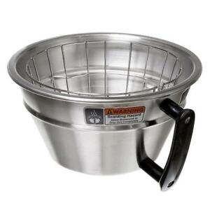 Wilbur Curtis Wc 3357 Large Stainless Steel Brew Basket With Wire Basket