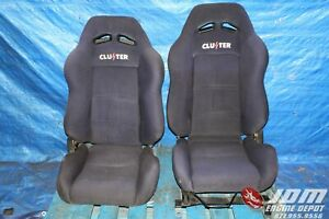 Jdm Cluster Reclineable Bucket Front Seats