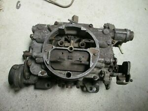 Carter Afb Carburetor 3896s 1964 1965 Pontiac 389