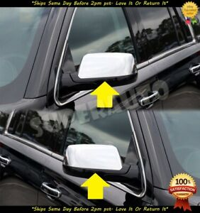 For 2015 2019 Tahoe suburan Replacement Chrome Mirror Covers Clip On Style