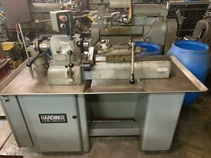 Hardinge Dsm 59 Lathe Variable Speed 21sc Collet Super Precision