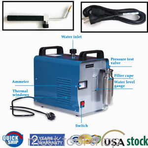Oxy hydrogen Generator Acrylic Flame Polishing Machine Water Welder H160 75l Ce