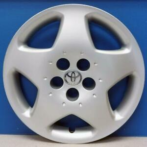 One 2003 2008 Toyota Corolla 61121 15 Hubcap Wheel Cover Oem 42621ab070