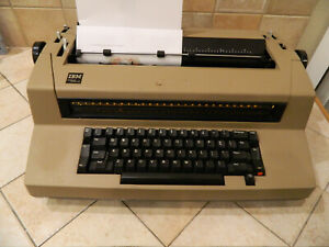 Ibm Selectric Iii Typewriter Working Condition For Parts Or Repair