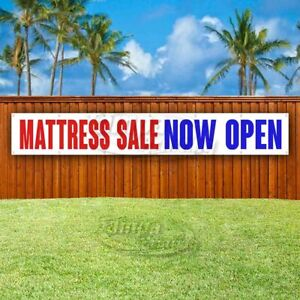 Mattress Sale Now Open Advertising Vinyl Banner Flag Sign Large Huge Xxl Size