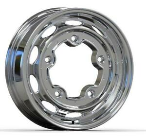 Volkswagen Empi Vintage 190 Slotted Polished Wheel 4 5 X 15 5 205 Bolt Pattern