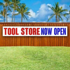 Tool Store Now Open Advertising Vinyl Banner Flag Sign Large Huge Xxl Size