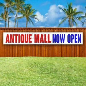 Antique Mall Now Open Advertising Vinyl Banner Flag Sign Large Huge Xxl Size