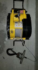 Oz Lifting Electric Wire Rope Hoist 500 Lbs Cap