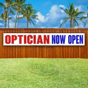 Optician Now Open Advertising Vinyl Banner Flag Sign Large Huge Xxl Size