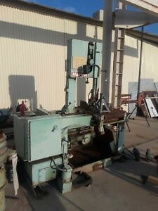 Marvel 81a11 Pc Vertical Automatic Band Saw Bandsaw Mitering