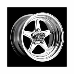 Center Line Wheels Competition Series Qualifier Polished Wheel 7215703550