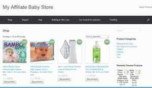 Any Niche Amazon Affiliate Website Business Installed With Shopping Cart
