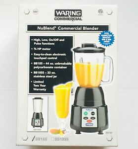 Waring Commercial Nublend Blender 44oz Polycarbonate Container Bb185 Bnib
