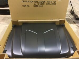 2007 2013 Gmc Sierra Steel 2 Cowl Induction Hood New Perfect Local Pickup Only
