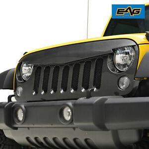 2007 2018 18 Jeep Wrangler Unlimited Rubicon Jk Sahara Replacement Grille Grill