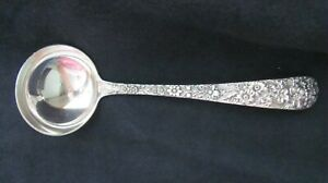 Sterling Silver Kirk And Son Inc Repousse Gravy Ladle