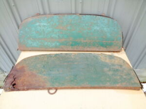 1953 1954 Chevrolet Chevy Car Fender Skirts Oem Belair Delray 210 Sedan Lowrider