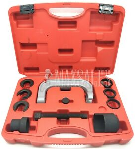 Removal Installer Upper Control Arm Bushing Service Set W C Frame 4 Ford Gm Chry