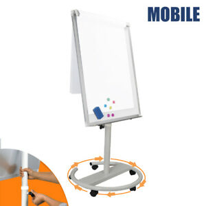 Mobile Magnetic Dry Erase Board marker Whiteboard Office Whiteboard 36 x25