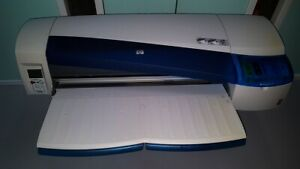 Hp Designjet 120 Large Format Color Printer Like New Barely Used