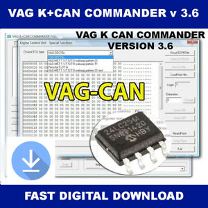 Vag K Can Commander V 3 6 Full For Volkswagen Audi Seat Skoda