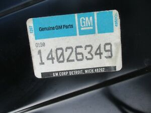 14026349 Nos Gm Chevy Chevrolet Pickup Truck Tailgate Tail Gate
