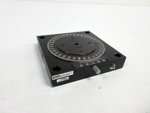 Parker 10000 Manual Rotary Stage 2 75 X 2 75 Rotation 360 Degree